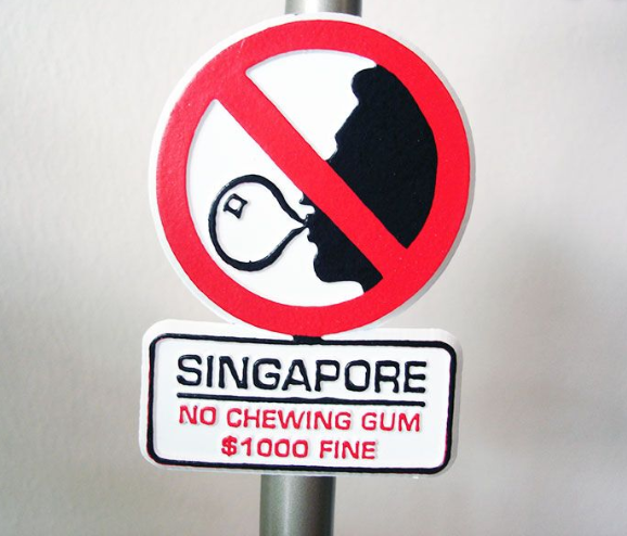 Chewing Gum Ban in Singapore