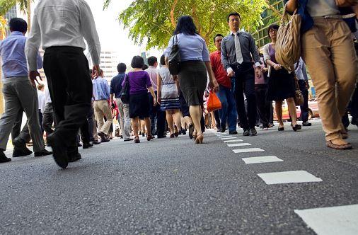 Singapore's human development index