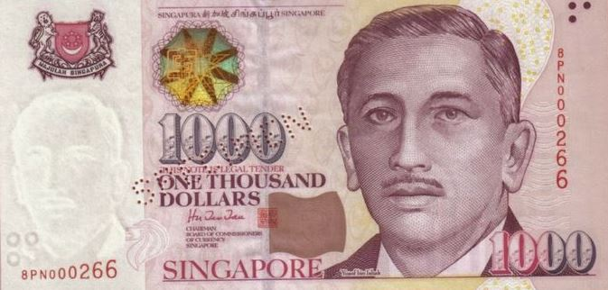 Why Singapore will stop issuing S$1000 Notes